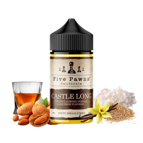 Castle Long Five Pawns Flavor Shot 30ml for 60ml
